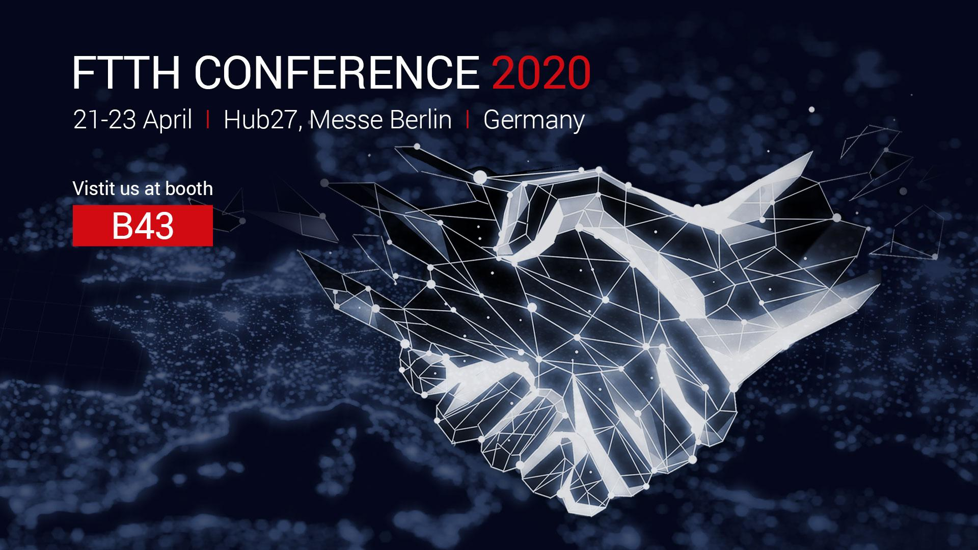 Sponsor at the FTTH Conference 2020